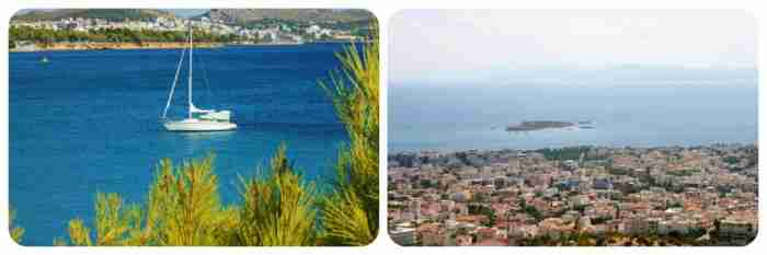 Από πού προέκυψαν οι ονομασίες των Νοτίων Προαστίων της Αθήνας;