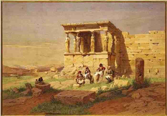 Η Ακρόπολη των Αθηνών μιας άλλης εποχής μέσα από 19 συγκλονιστικούς πίνακες ζωγραφικής