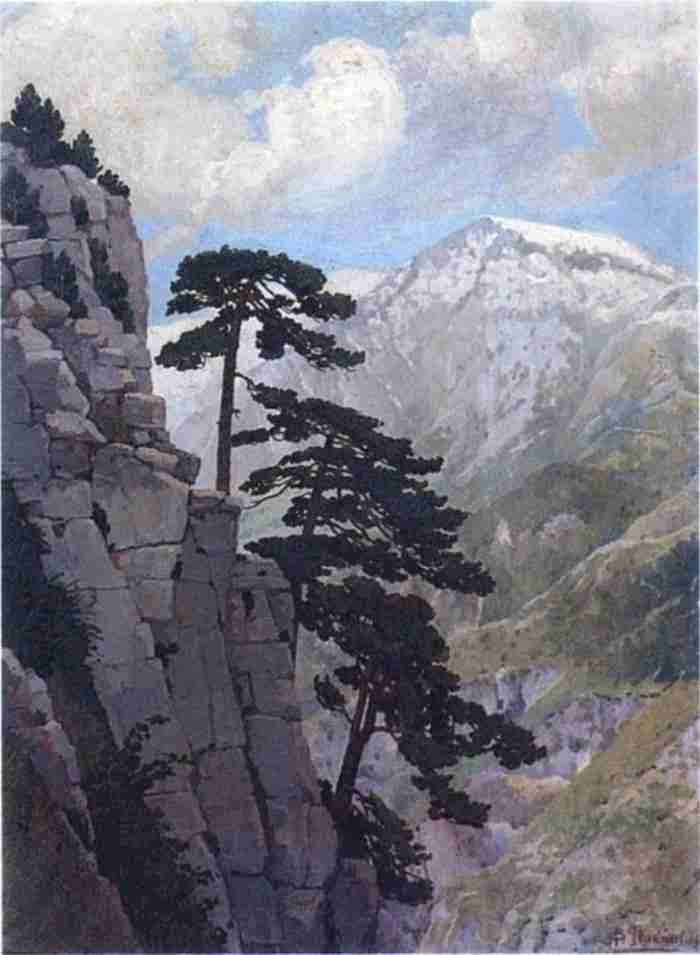 Ιθακήσιος: Ο μεγάλος ζωγράφος που έζησε 20 χρόνια σε σπηλιά του Ολύμπου. Λάτρευε την φύση και πέθανε προσπαθώντας να την θαυμάσει