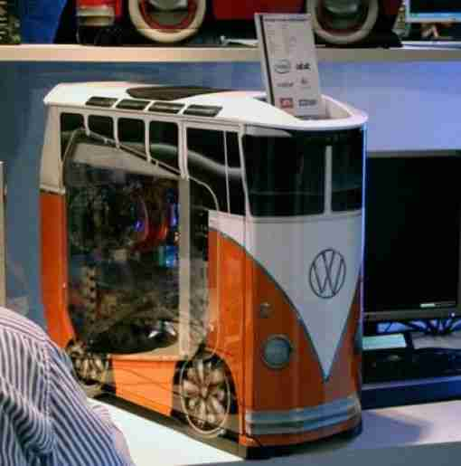 VW Bus Tower Case