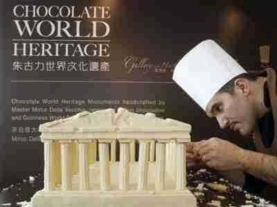 Μνημεία από σοκολάτα