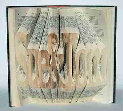 Τέχνη από παλιά βιβλία