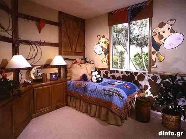 Πρωτότυπα παιδικά δωμάτια