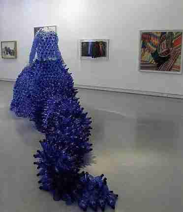 Τέχνη με πλαστικά μπουκάλια