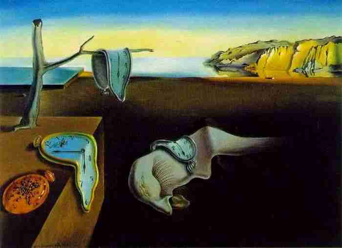 The-Persistence-of-Memory-by-Salvador-Dali