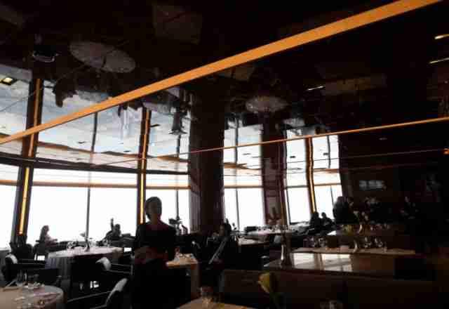 Το ψηλότερο εστιατόριο στον κόσμο