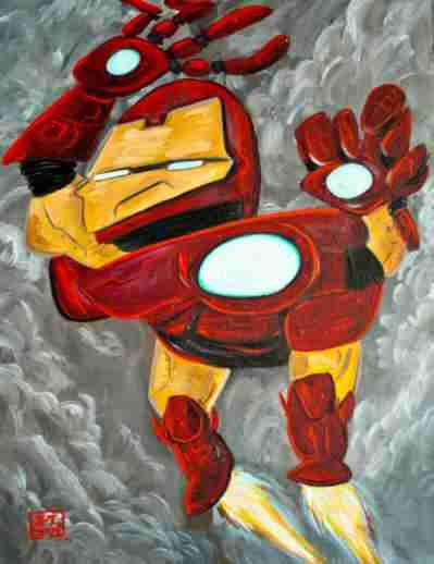 iron-man-picasso-drawing