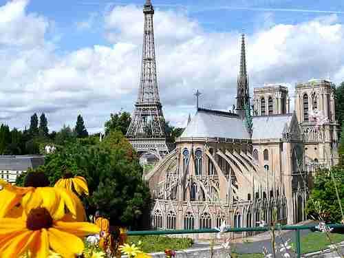 Η μινιατούρα της Γαλλίας