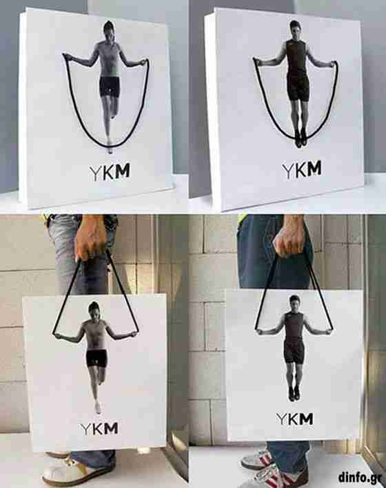 Παράξενες διαφημιστικές τσάντες