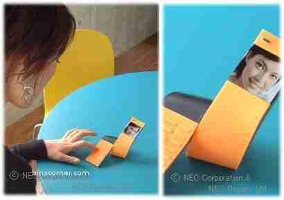 NEC Tag concept phone