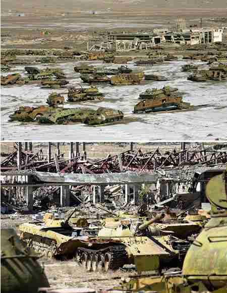 Νεκροταφείο Τανκς στο Αφγανιστάν
