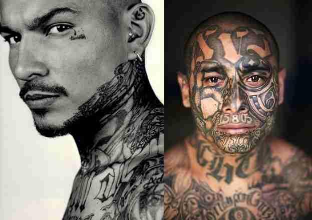 Mara Salvatrucha Tattoos