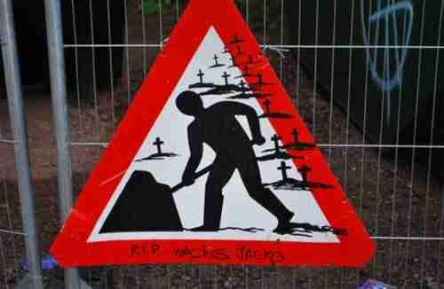 Ξεκαρδιστικές καταστροφές πινακίδων