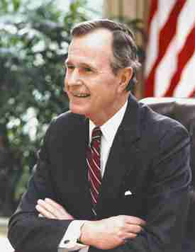 George H.W. Bush - IQ 96