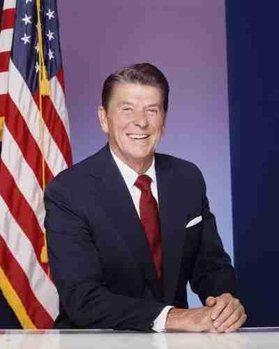 Ronald Reagan - IQ 105