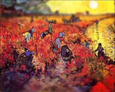 Οι πίνακες του Βαν Γκογκ με προοπτική