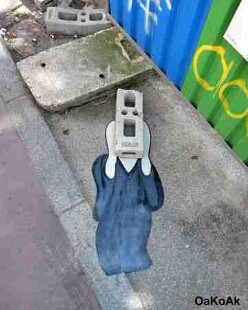 OaKoAk: Ο καλλιτέχνης του δρόμου