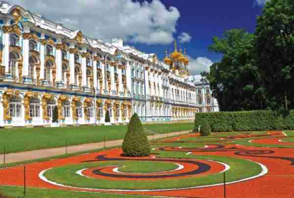 Catherine Palace, Outside St. Petersburg, Russia
