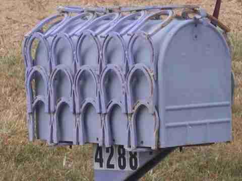 18 Παράξενα γραμματοκιβώτια