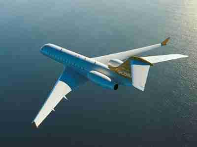 Bill Gates - Bombardier BD-700 Global Express