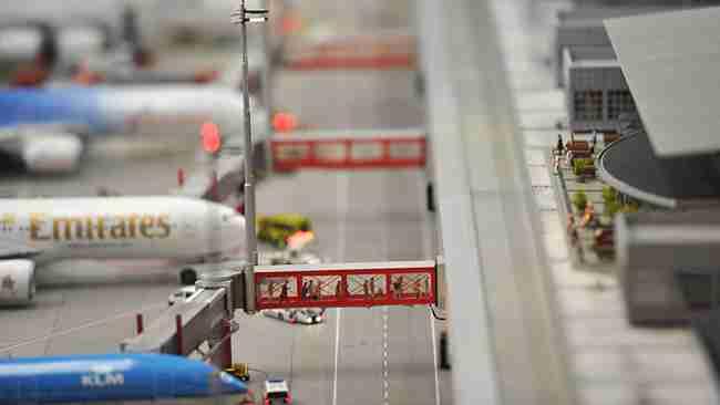 Το μεγαλύτερο αεροδρόμιο μινιατούρα!