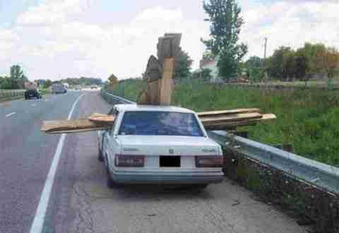 Υπερφορτωμένα αυτοκίνητα