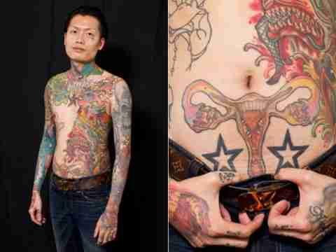 Sydney Tattoo and Body Art Expo 2011