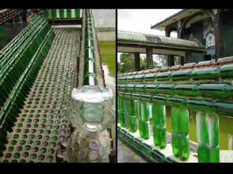 Ναός από μπουκάλια μπύρας