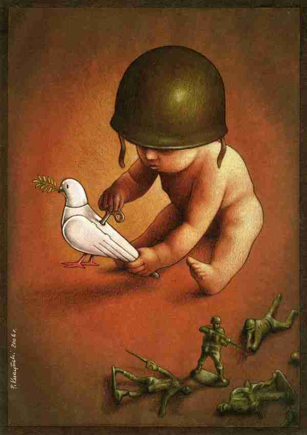 Οι σατιρικοί πίνακες του Pawel Kuczynski