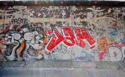 Το τοίχος του Βερολίνου σήμερα