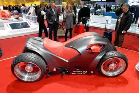 Pendolauto Bike Concept