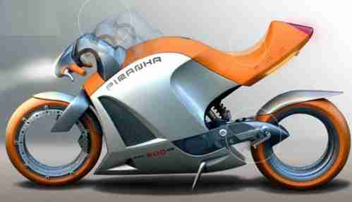 Poshwatta Motorcycle Concept