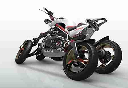Yamaha Tesseract Four Wheel Motorcycle