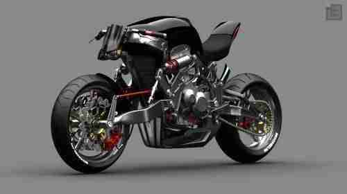 Fallout Motorcycle Concept