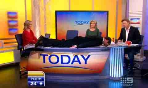Planking: Η νέα μόδα στο εξωτερικό