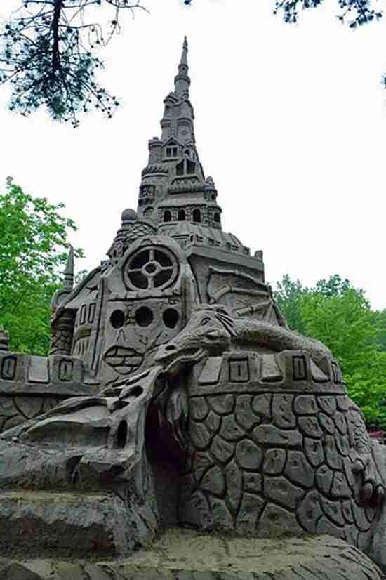Ο ψηλότερος πύργος στην άμμο