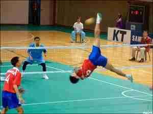 Sepak takraw: Ίσως το εντυπωσιακότερο άθλημα!