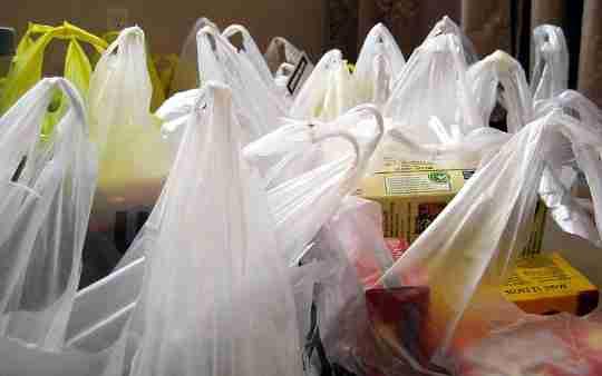 Σακούλες αγορών (από πλαστικό)