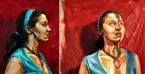 Οι πίνακες της Alexa Meade που.. ζωντανεύουν