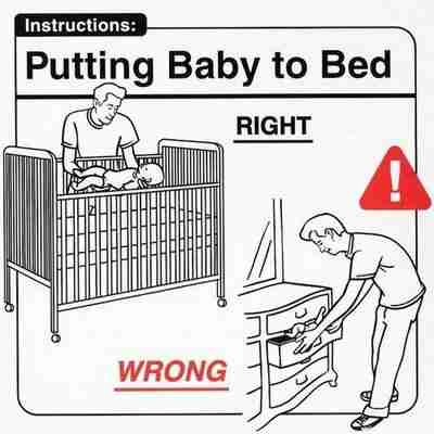 Οδηγίες πρός νέους γονείς!