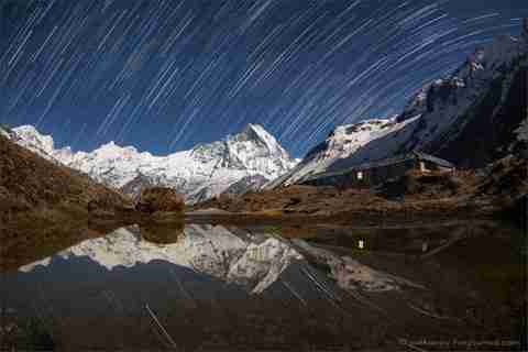 Ο Anton Jankovoy φωτογραφίζει τα Ιμαλάια