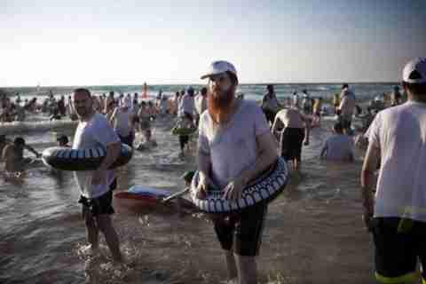 Kosher Beach, μια παραλία μόνο για άντρες