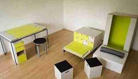 Ένα δωμάτιο σε ένα κουτί!
