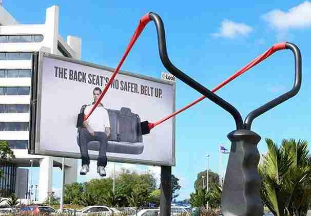 Διαφημιστική καμπάνια για την ζώνη ασφαλείας του αυτοκινήτου