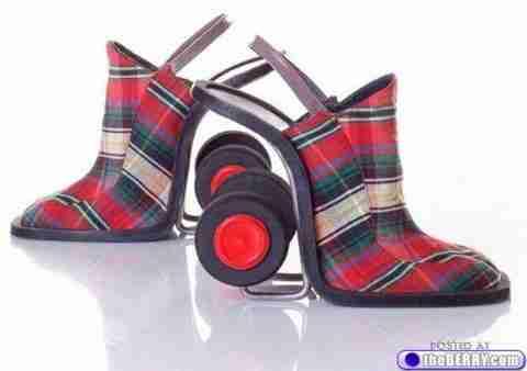 21 παράξενα γυναικεία παπούτσια