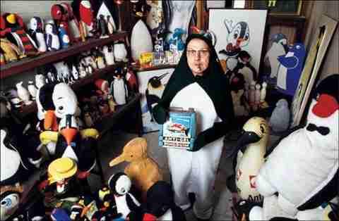 Ο άνθρωπος που θέλει να γίνει Πιγκουίνος