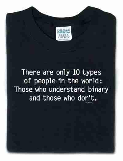 Μπλουζάκι binary lovers