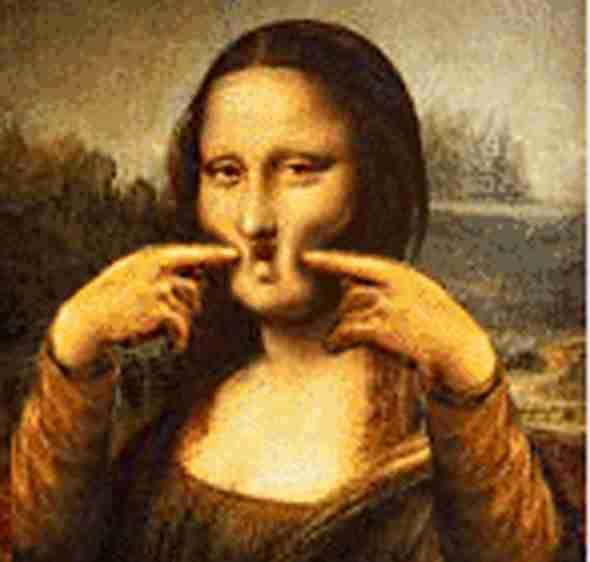 Οι καλύτερες παρωδίες της Μόνα Λίζα