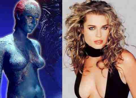 Rebecca Romijn – Mystique in X-Men