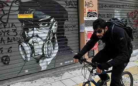 """Η """"τέχνη της οργής"""" της Αθήνας"""